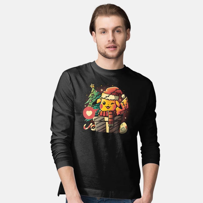 Electric Gift-mens long sleeved tee-eduely