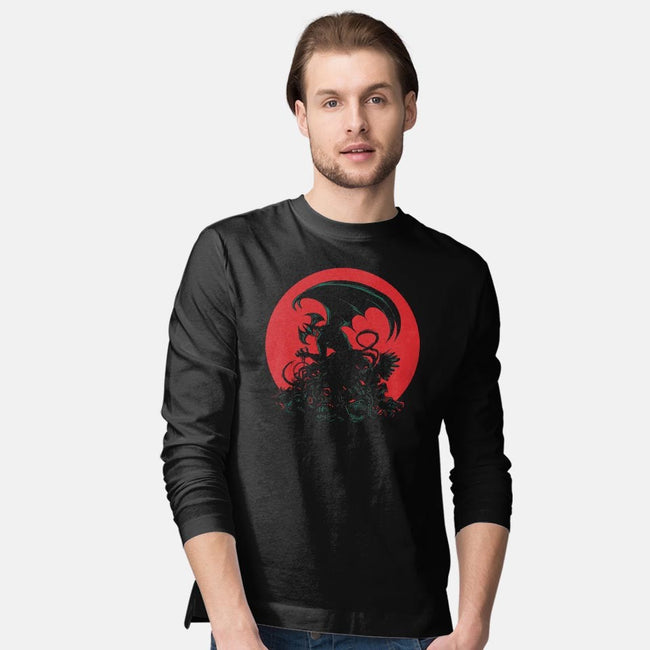 I'm Not a Demon!-mens long sleeved tee-Fishmas