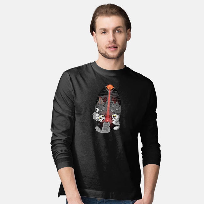 One Light Beam To Rule Them All-mens long sleeved tee-queenmob