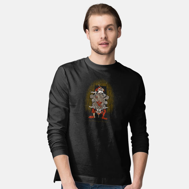 One of Us Always Tells the Truth-mens long sleeved tee-Nemons