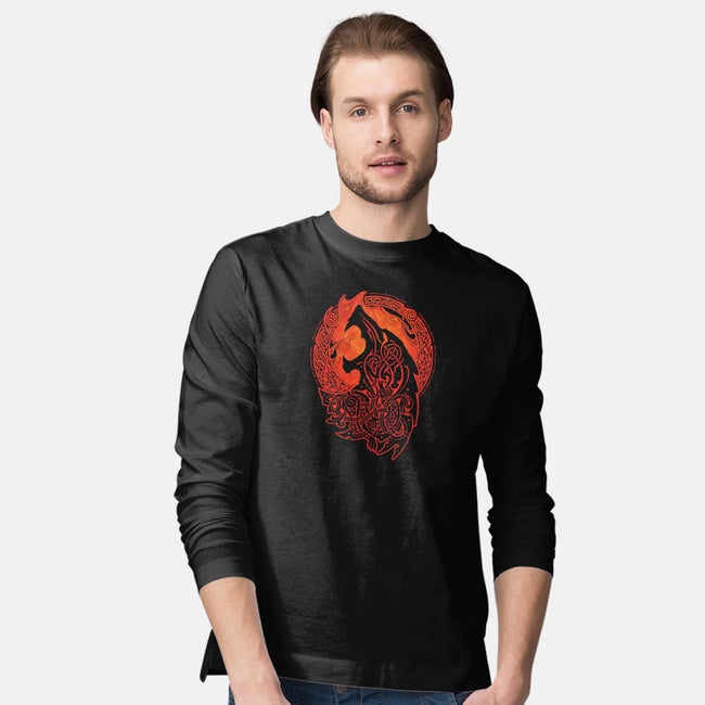 Fenrisulfr-mens long sleeved tee-RAIDHO