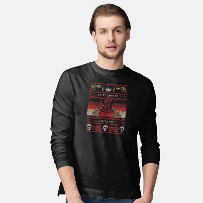 I'm Fireproof-mens long sleeved tee-BWdesigns