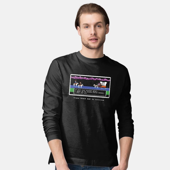 Powerful Ugly Creature-mens long sleeved tee-davesongart