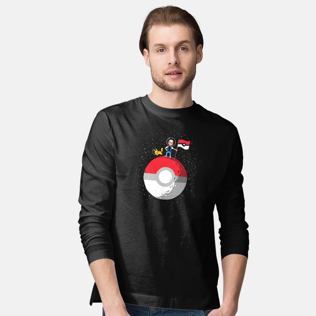 Conquer Them All-mens long sleeved tee-DinoMike