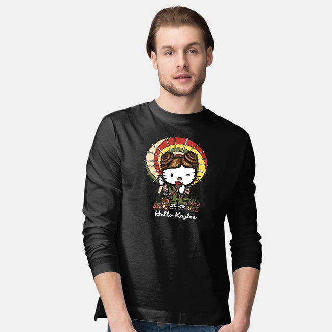 Hello Kaylee-mens long sleeved tee-OfficeInk