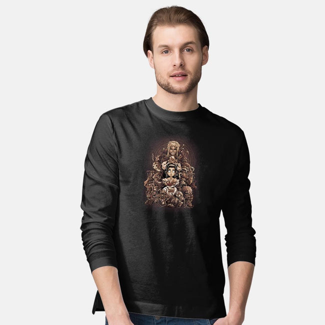 Thirteen Hours-mens long sleeved tee-saqman