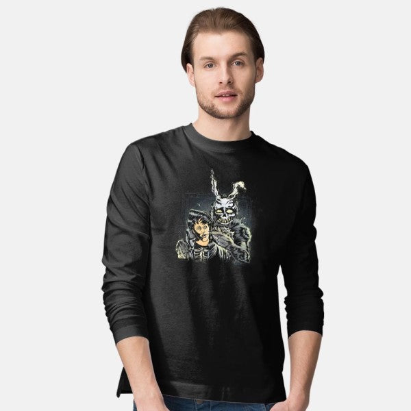 Wake Up Donnie-mens long sleeved tee-Fearcheck