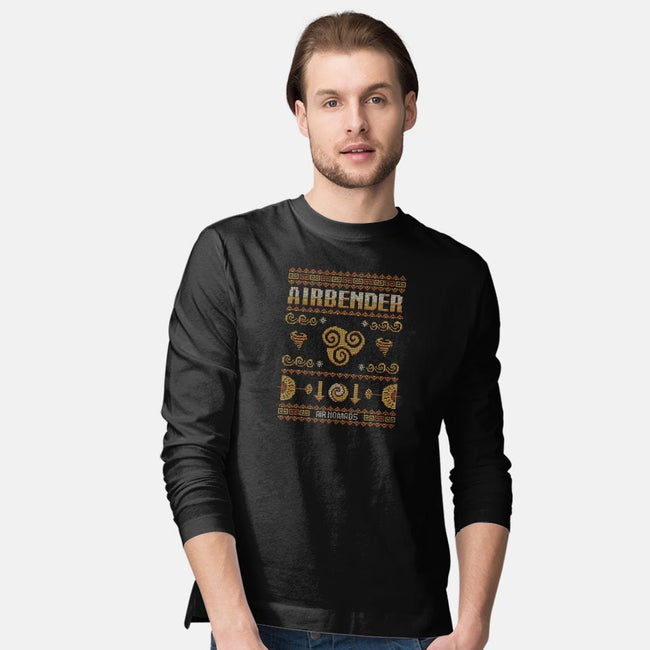 Air Nomads Sweater-mens long sleeved tee-Typhoonic