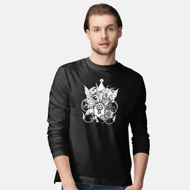 The Great Houses-mens long sleeved tee-GuitarAtomik