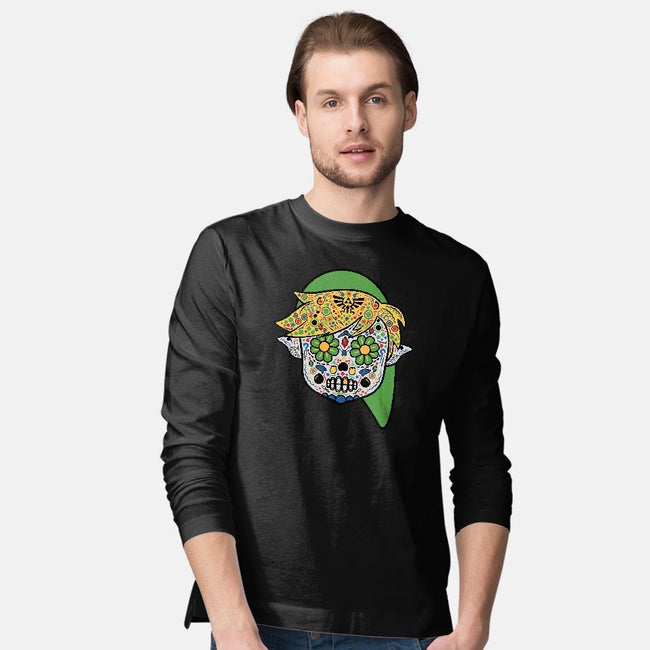 Dia de los Triforce-mens long sleeved tee-beware1984