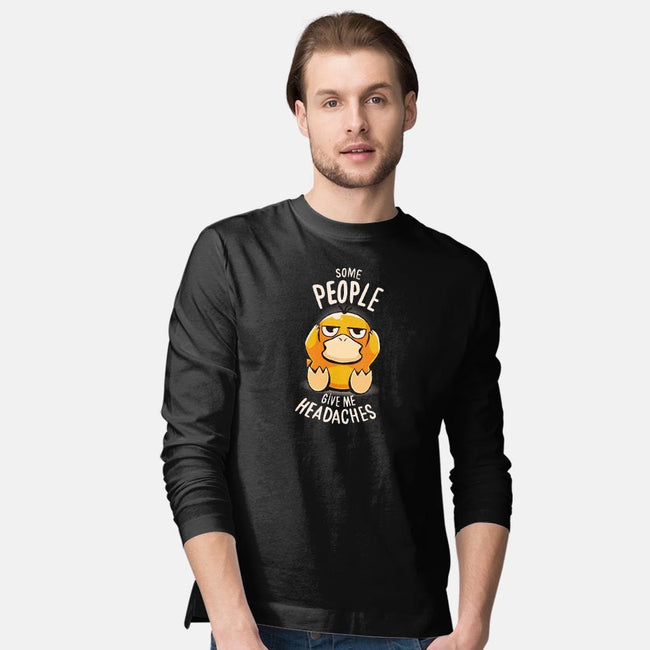 Psychic Problems-mens long sleeved tee-typhoonic