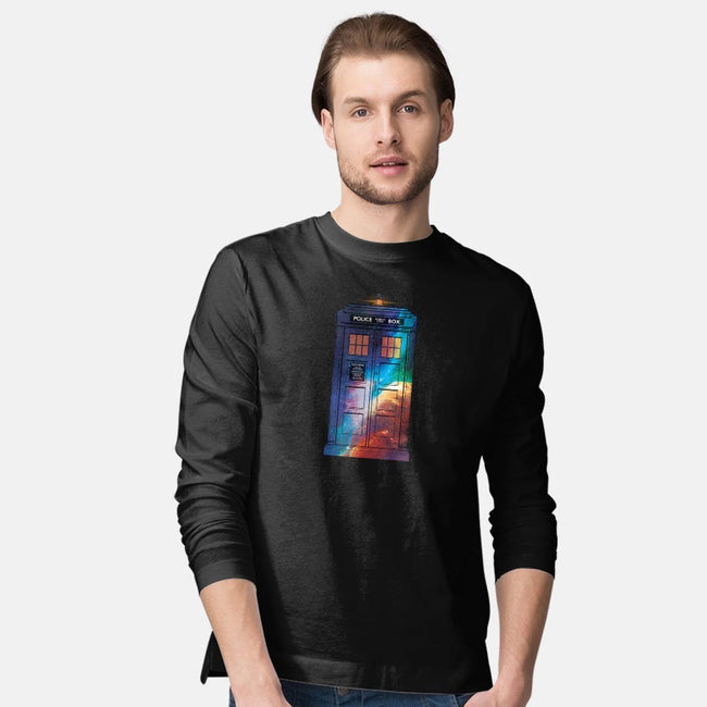 In Space and Time-mens long sleeved tee-danielmorris1993