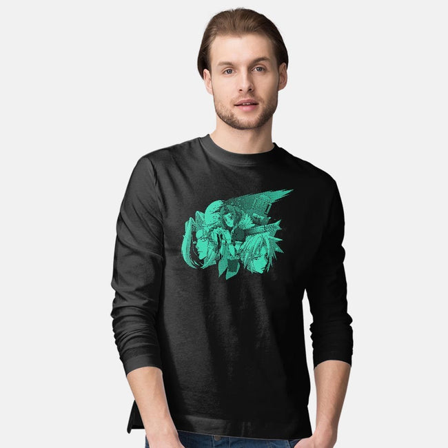 Only One Gil 2-mens long sleeved tee-Coinbox Tees