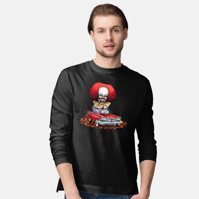 King of Horror-mens long sleeved tee-ChetArt