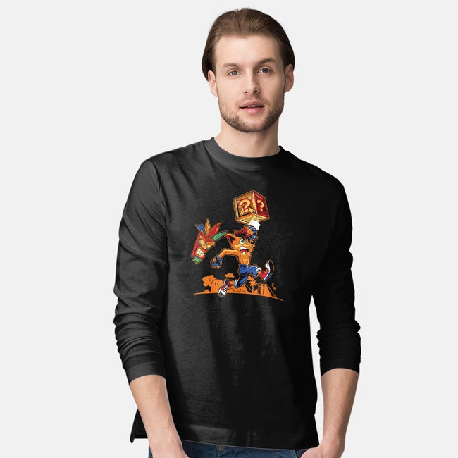 Crash Bash!-mens long sleeved tee-liquidcamo