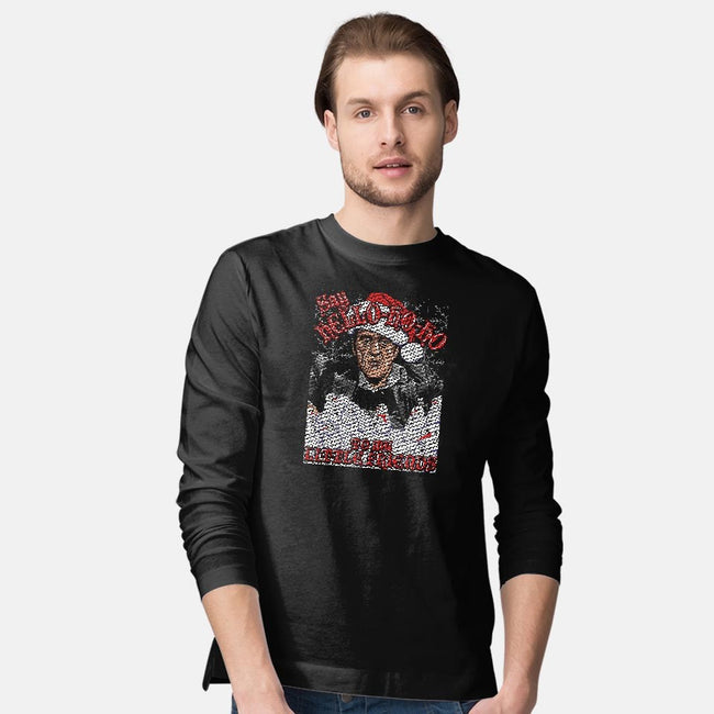 Hello-Ho-Ho Friends-mens long sleeved tee-CoD Designs