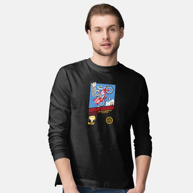 Adventure Bike-mens long sleeved tee-mikehandyart