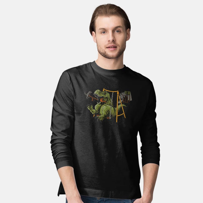 Prehistoric Park-mens long sleeved tee-Naolito