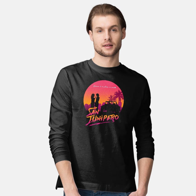 Here Love Lasts Forever-mens long sleeved tee-ddjvigo