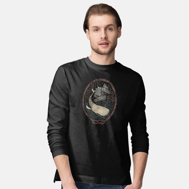 Deep-mens long sleeved tee-Mike Koubou