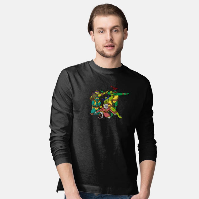 Turtle Force-mens long sleeved tee-MarianoSan