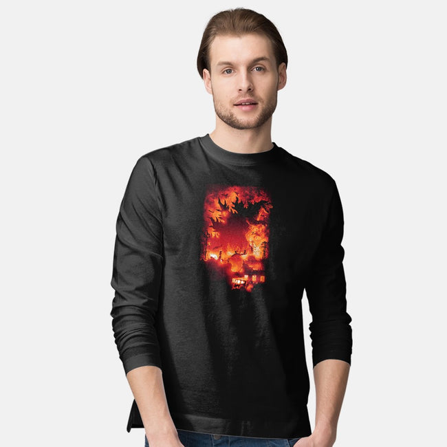 Oh No, There Goes Tokyo-mens long sleeved tee-cs3ink