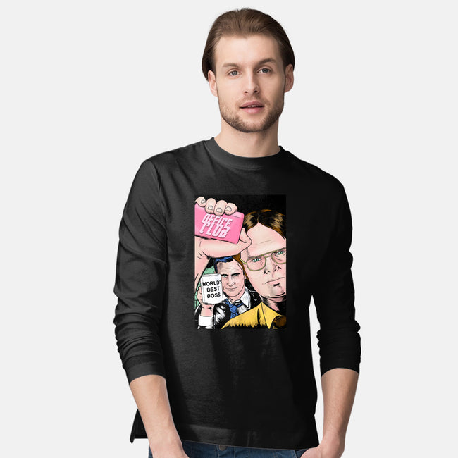 Office Club-mens long sleeved tee-MarianoSan