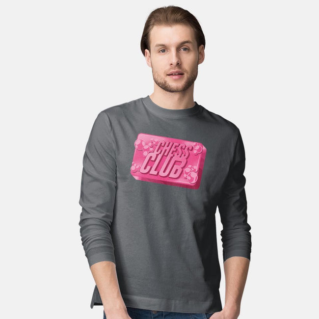 Chess Club-mens long sleeved tee-DCLawrence
