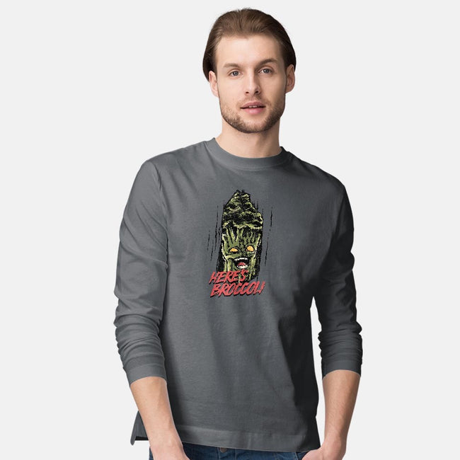 Here's Broccoli-mens long sleeved tee-AlbertoArni