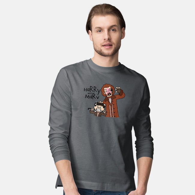 Harry and Marv!-mens long sleeved tee-Raffiti