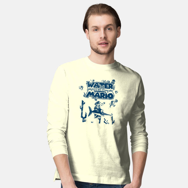 Water Level-mens long sleeved tee-yumie