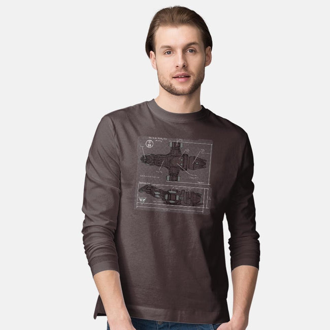 The Blueprint-mens long sleeved tee-AndreusD