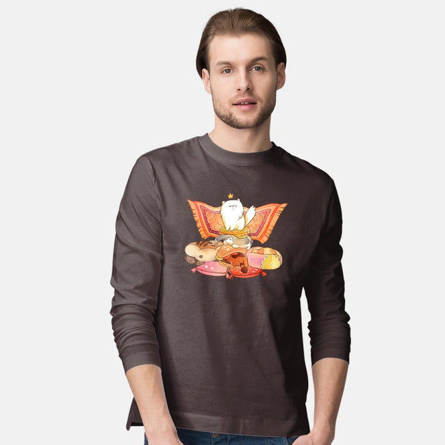 Game of Cushions-mens long sleeved tee-storyofthedoor