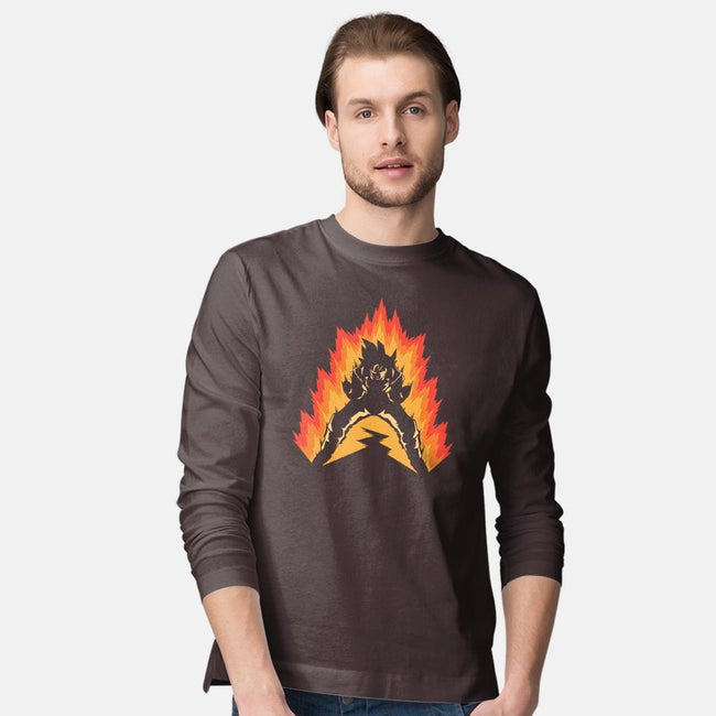 Power Up-mens long sleeved tee-JBaz
