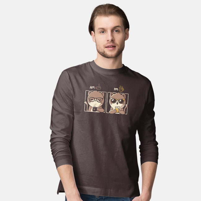 AM PM-mens long sleeved tee-eduely
