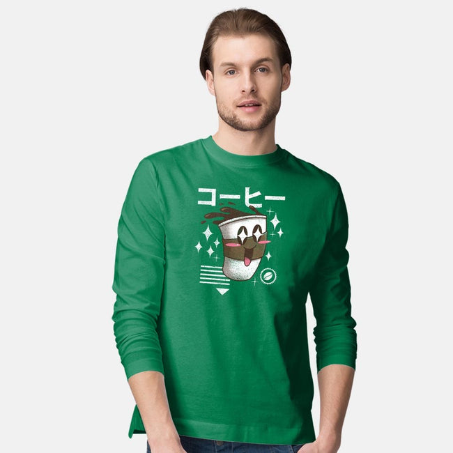 Kawaii Coffee-mens long sleeved tee-vp021