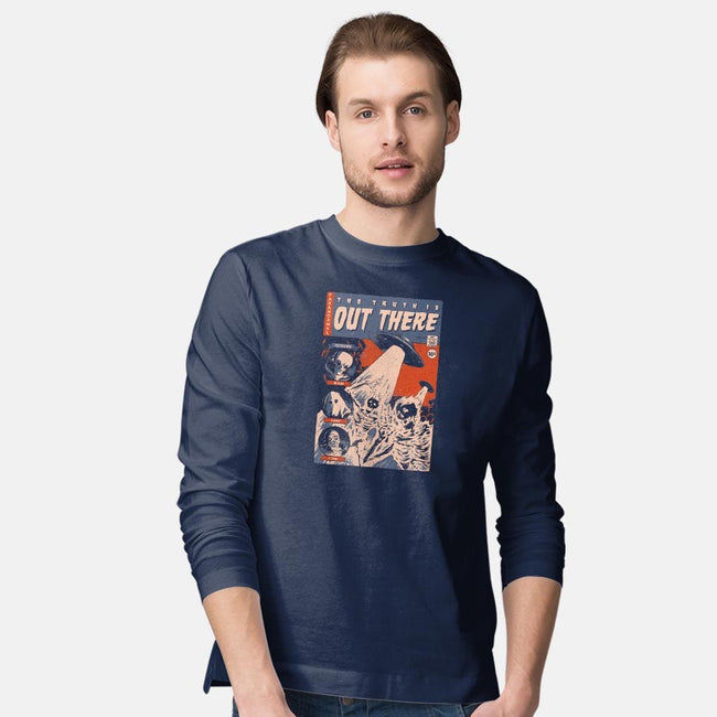 Comic Files-mens long sleeved tee-Mathiole