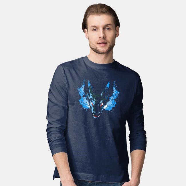 X-Dragon Fire-mens long sleeved tee-alemaglia