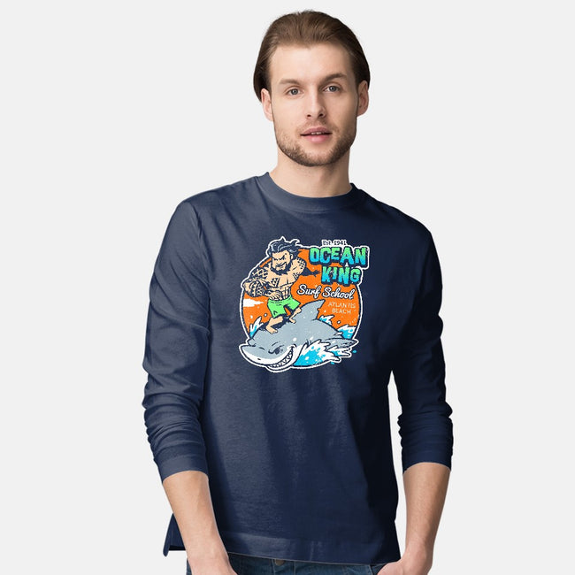 Ocean King-mens long sleeved tee-Oktobear