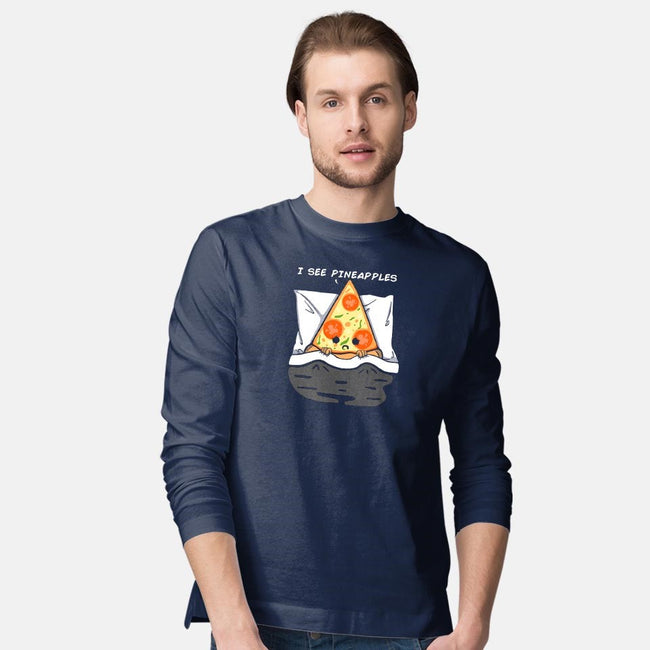 I See Pineapple-mens long sleeved tee-Melonseta