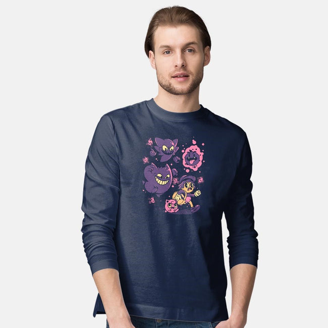 Old but Ghosts-mens long sleeved tee-ilustrata