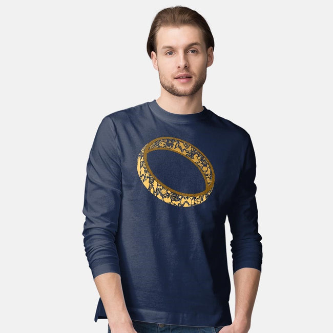 One Ring-mens long sleeved tee-thehookshot
