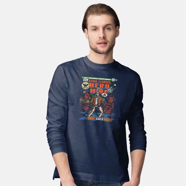 Hero 4 Hire-mens long sleeved tee-CoD Designs