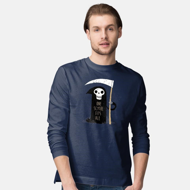 One Scythe Fits All-mens long sleeved tee-DinoMike