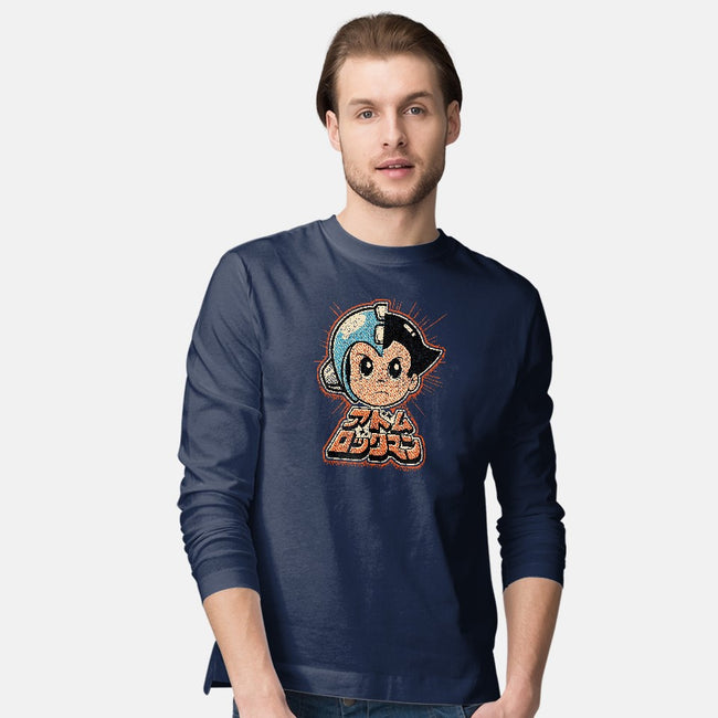 Vintage Mega Boy-mens long sleeved tee-Melee_Ninja