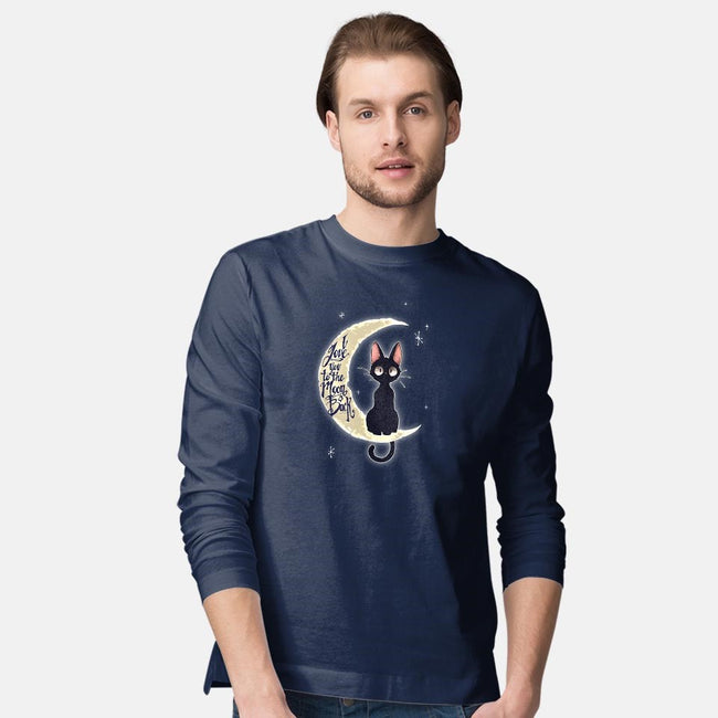 I Love You to The Moon & Back-mens long sleeved tee-TimShumate
