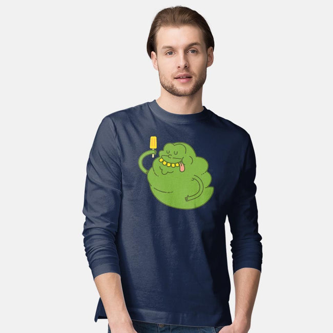Green Ghost-mens long sleeved tee-ppmid