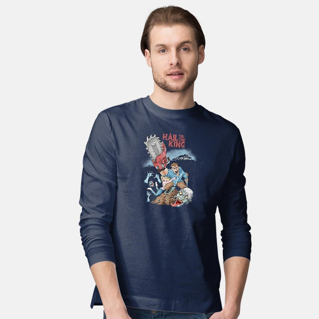 Hail to the King-mens long sleeved tee-skullpy