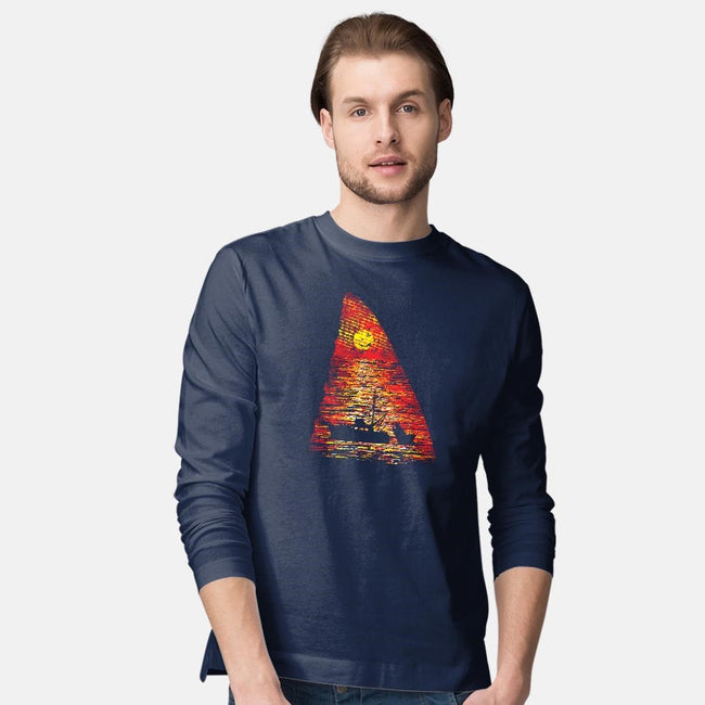 Ocean Predator-mens long sleeved tee-dalethesk8er