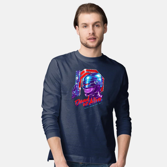 Dead or Alive-mens long sleeved tee-zerobriant